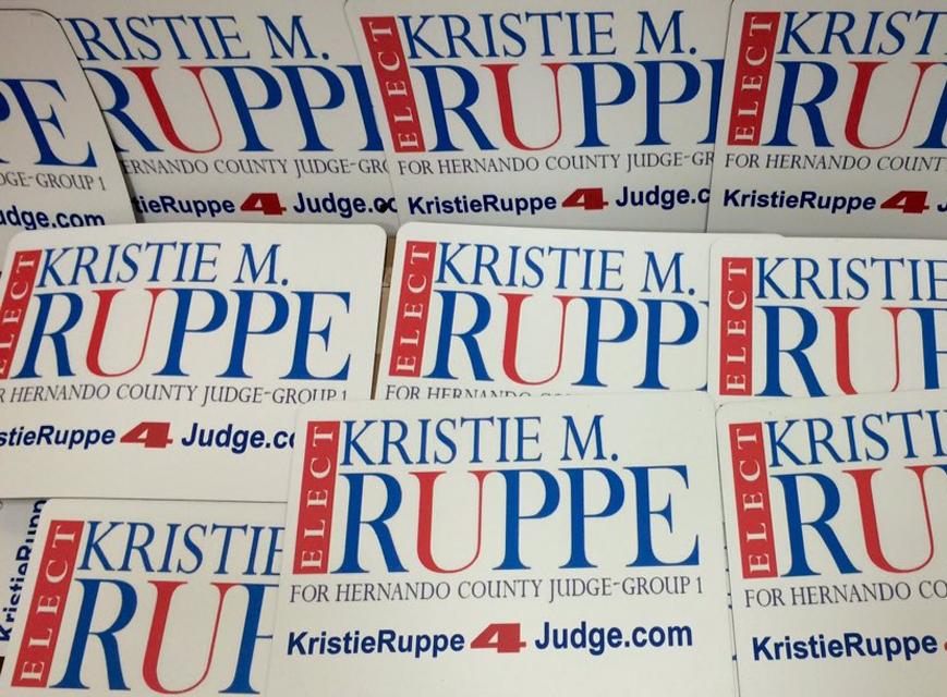 Kristie Ruppe - Campaign Logo Design